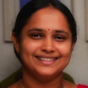trichur secre-M V Vineetha